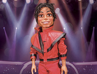 Michael Jackson Puppet - Terry Fator