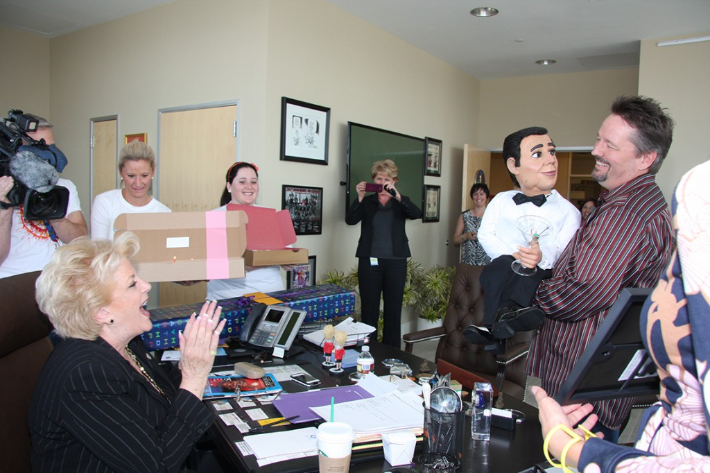 TERRY FATOR SURPRISES LAS VEGAS MAYOR ON HER BIRTHDAY