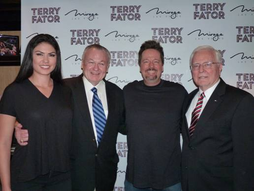 TERRY FATOR AND TAYLOR MAKAKOA ARE HONORED BY MILITARY IN SURPRISE SALUTE