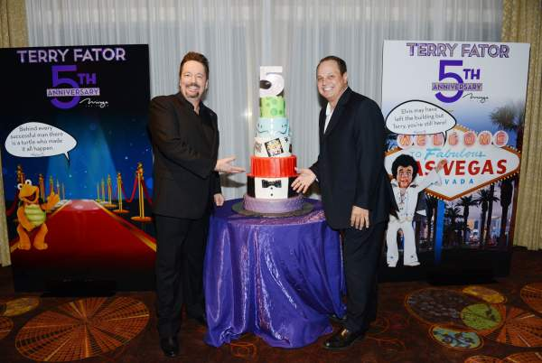 TERRY FATOR MARKS FIFTH ANNIVERSARY AT THE MIRAGE