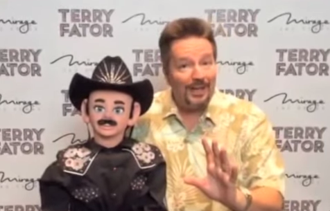 Terry Fator's Willie Nelson Impression!