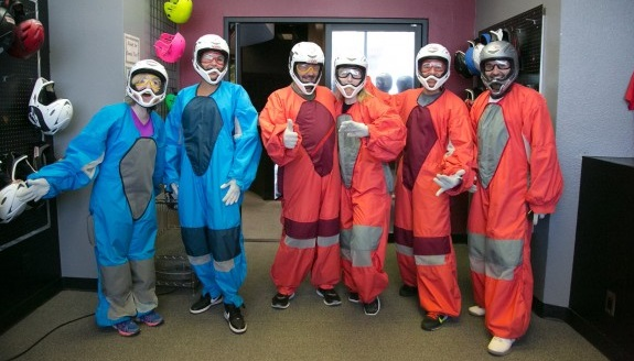 Terry Fator and Cast Visit Vegas Indoor Skydiving