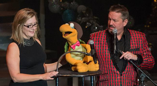 Terry Fator offers family Christmas show at the Mirage