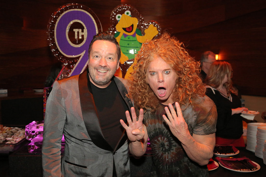 Terry Fator & Carrot Top